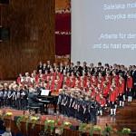 Das erste Benefizkonzert für die Schule in Ugari war ein voller Erfolg.
