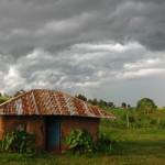 Adobe hut