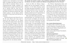 Österreich Journal vom 03.08.2010: Kinder für Kinder zum Quadrat (2/2)