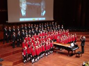 "The Wilten Boys' Choir at the ""Children for Children"" charity concert, Oct. 24 2010 (Photo: M.Nolf)"