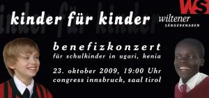 Kinder für Kinder Info-Flyer 2009