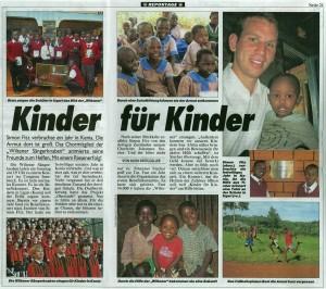 Kronenzeitung: Kinder für Kinder (19.10.2010)