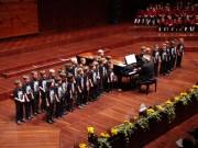 """Auftritt der Nachwuchschöre - Wiltener Sängerknaben beim Benefizkonzert """"Kinder für Kinder"""" am 24.10.2010 (Foto: M.Nolf)"""