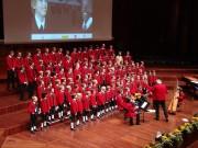 """Chor und Volksmusikgruppe der Wiltener Sängerknaben - Benefizkonzert """"Kinder für Kinder"""" am 24.10.2010 (Foto: M.Nolf)"""