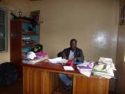 Herr Rabet Onyango, Direktor der Schule.