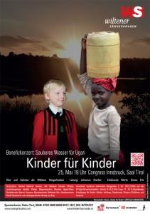Benefizkonzert Kinder für Kinder - Unser Plakat 2014