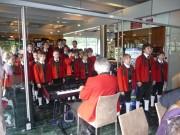 Musikalische Umrahmung der Veranstaltung durch die Wiltener Sängerknaben.