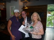 Herr Präsident Arthur Bellutti und Sonja Leitner übergaben die Preise an die Gewinner.