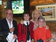 Philipp Meraner brillierte beim Singen und beim Golfen.
